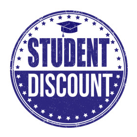 10% off select books - STUDENT DISCOUNT